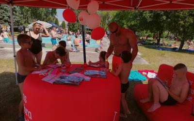 """Piknik rodzinny """"Bezpieczne wakacje"""" - relacja z wydarzenia."""