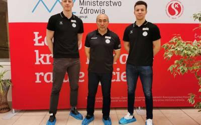 Piłkarze Vive Kielce oddają osocze